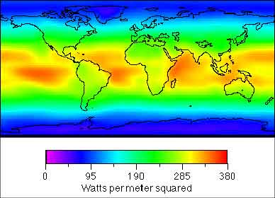 Thermal Map Of The World.Towards A Self Sufficient Energy System Energy International
